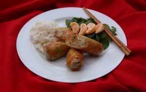 Share the joy of the Chinese New Year with make-your-own spring rolls.